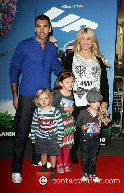 Nicola McLean and her family The UK Premiere...