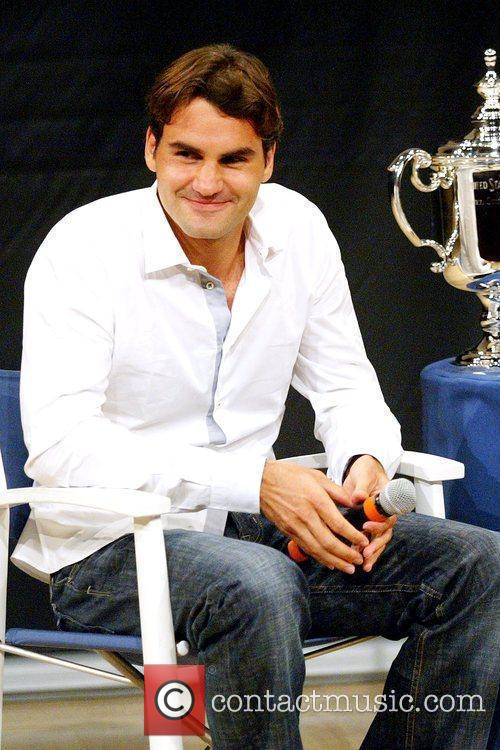 Us Open Champion Roger Federer Attends The 2009 Us Open Tennis Draw Ceremony 7