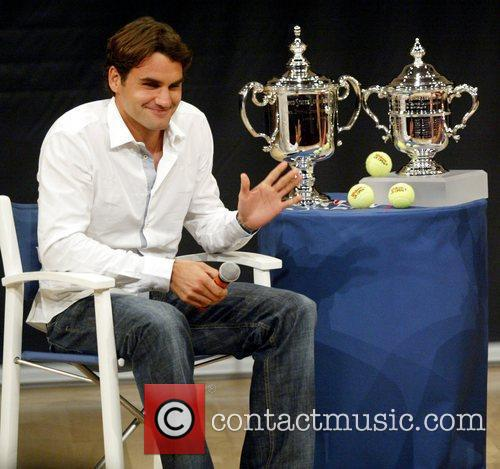 US Open Champion Roger Federer attends the 2009...