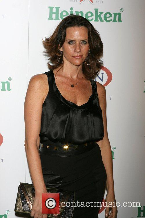 Amy Landecker The USTA & Heineken kick-off 2009...