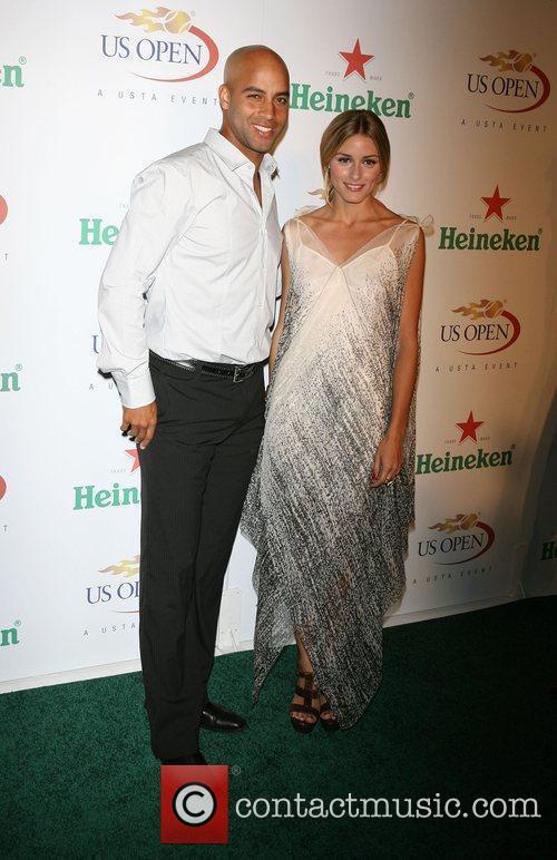 James Blake and Olivia Palmero The USTA &...