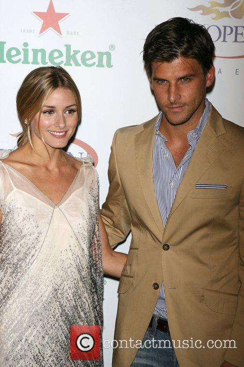 Olivia Palermoa and Johannes Huebl The USTA &...