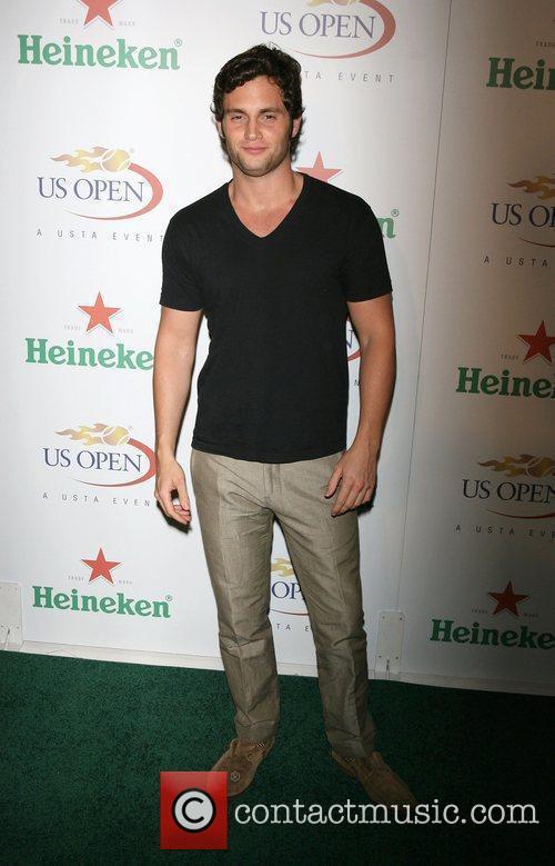 Penn Badgley The USTA & Heineken kick-off the...