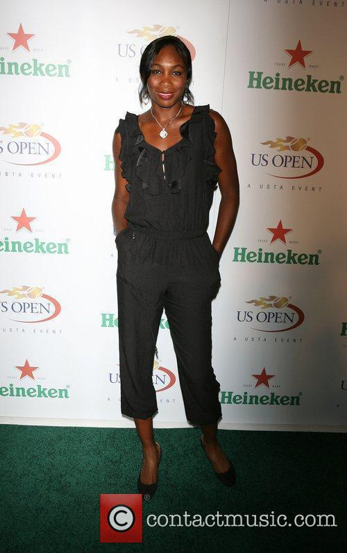 Venus Williams The USTA & Heineken kick-off the...