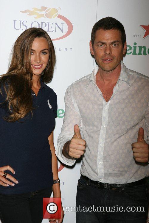 Vince Offer and Guest The USTA & Heineken...