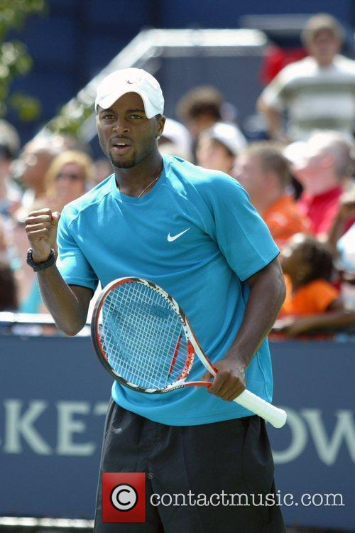 Donald Young 2009 US Tennis Open - Day...