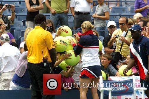 Kim Clijsters and Billie Jean King 9