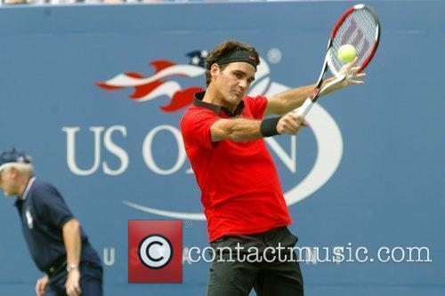 Roger Federer 2009 US Tennis Open - Day...
