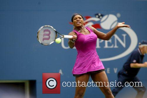 Serena Williams 2009 US Tennis Open - Day...