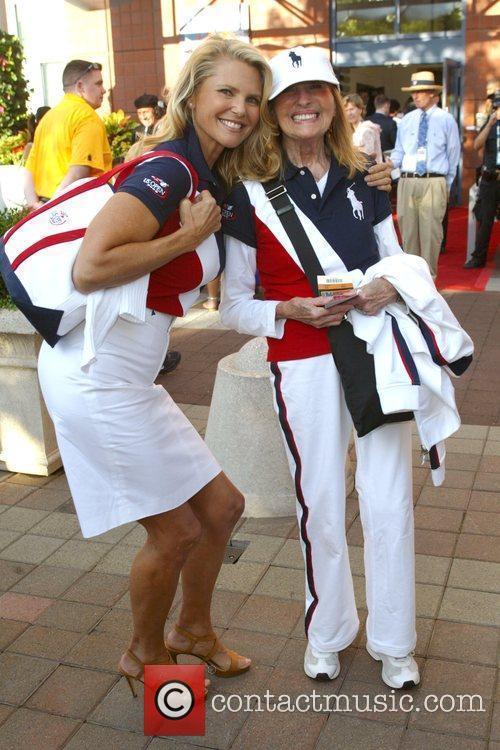 Christie Brinkley and Billie Jean King 10