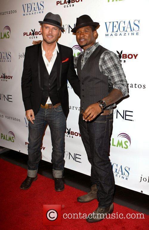 Matt Goss and Usher Vegas Magazine's July/August issue...
