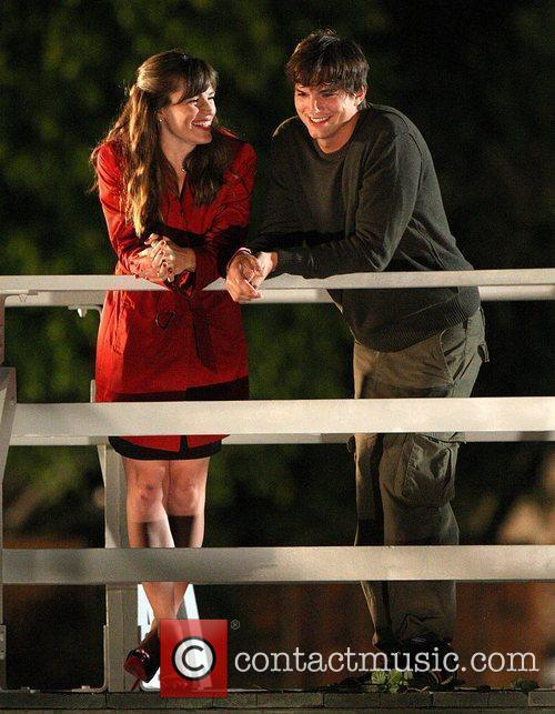 On the set of their new film 'Valentine's...