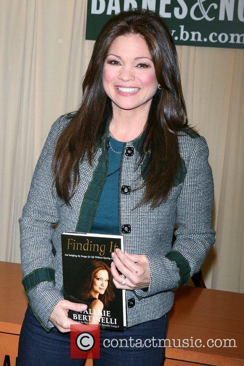 Valerie Bertinelli signs copies of her new book...