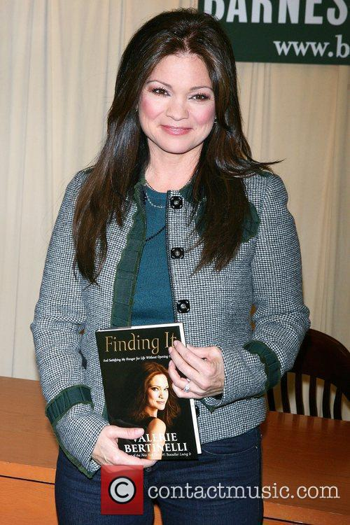 Valerie Bertinelli signs copies of her new book...