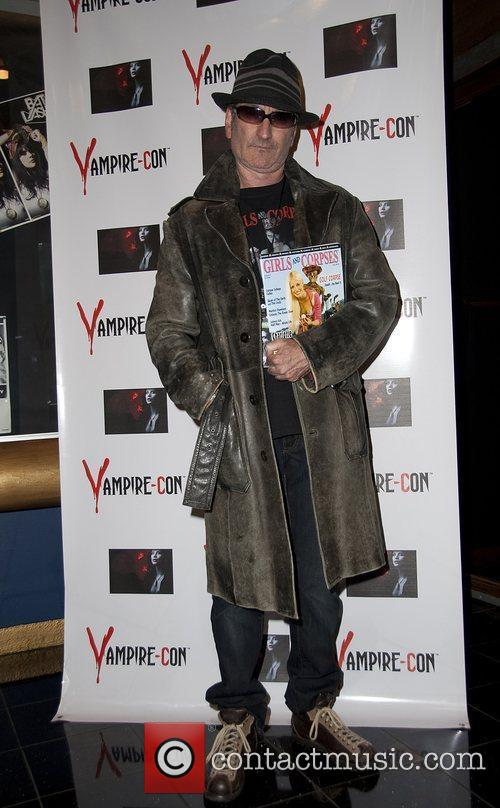 Robert Rhine at the Vampire Con at The...