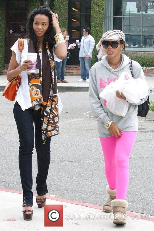 Angela Simmons and Mtv 2