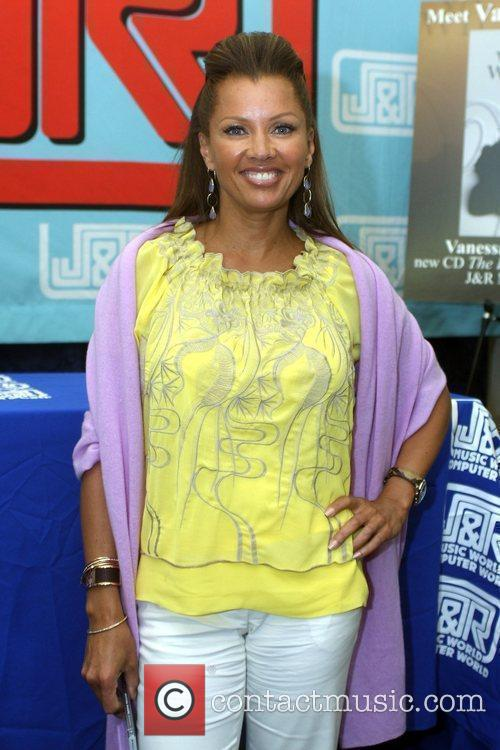Vanessa Williams signs copies of her new CD...