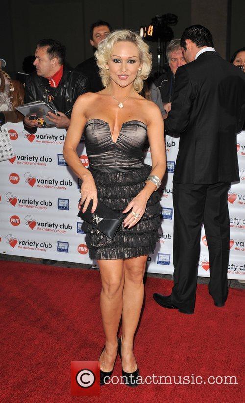 Christina Rihanoff Variety Club Showbiz Awards held at...