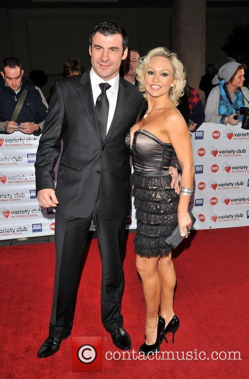 Joe Calzaghe and Christina Rihanoff