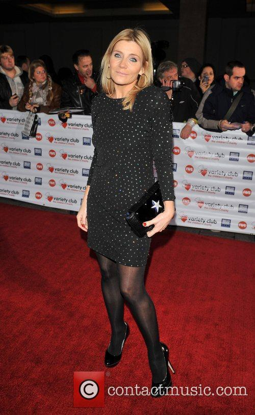 Michelle Collins Variety Club Showbiz Awards held at...