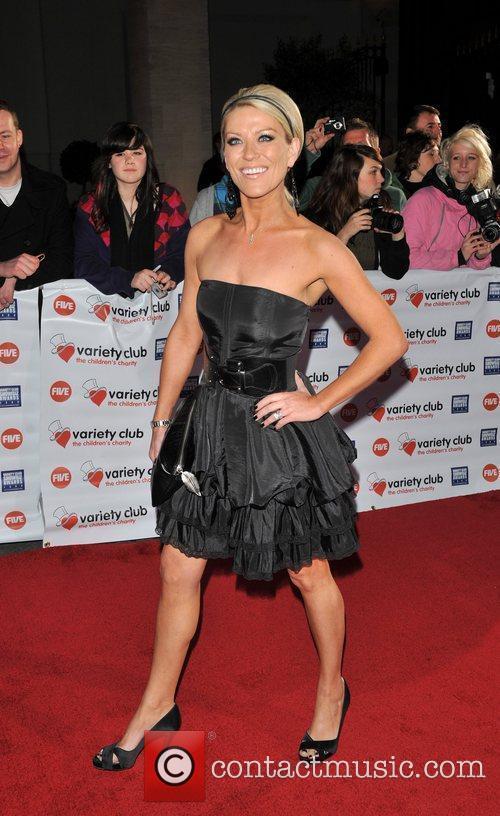 Zoe Lucker Variety Club Showbiz Awards held at...