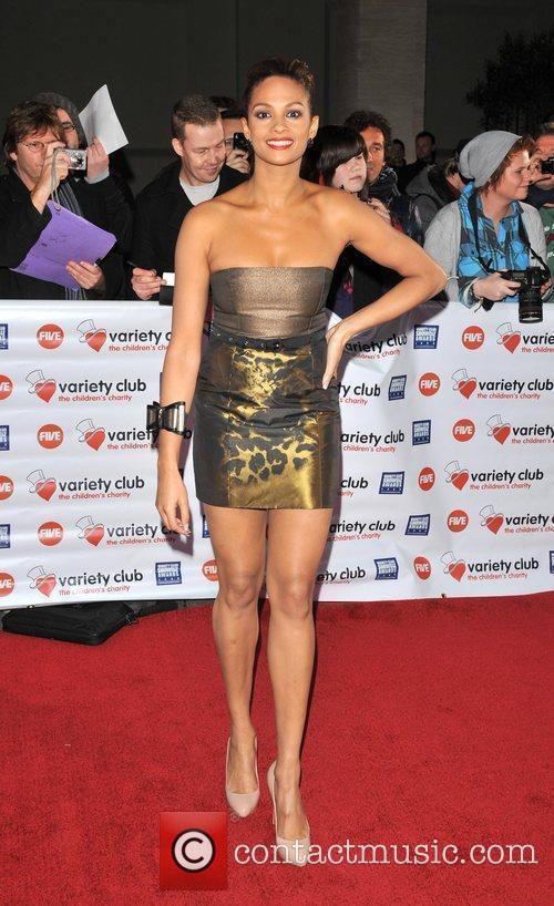 Alesha Dixon Variety Club Showbiz Awards held at...