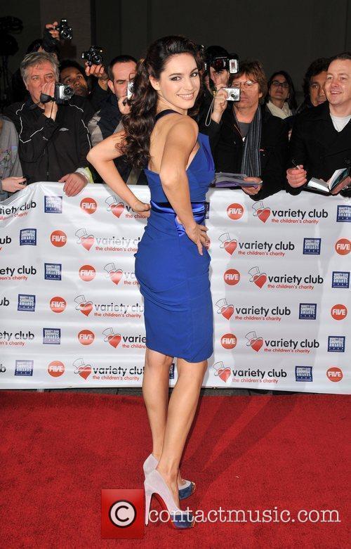 Kelly Brook Variety Club Showbiz Awards held at...