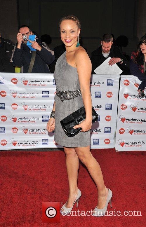 Angela Griffin Variety Club Showbiz Awards held at...