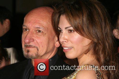 Sir Ben Kingsley and Daniela Barbosa Variety Club...