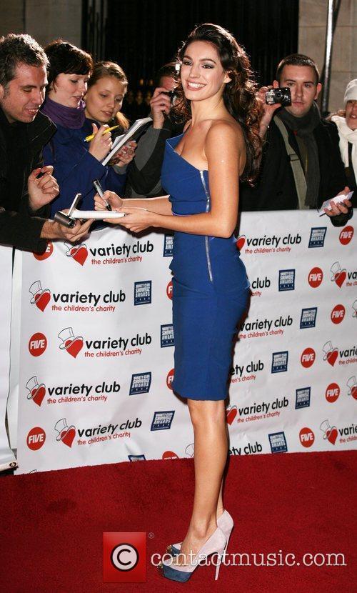 Variety Club Showbiz Awards held at the Grosvenor...