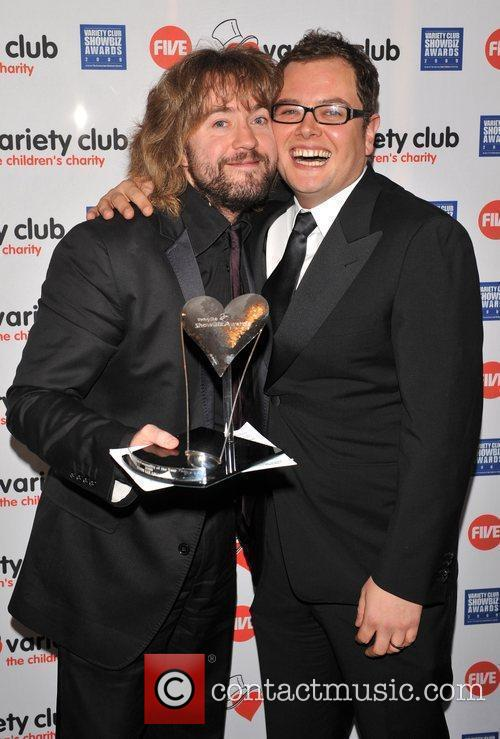 Justin Lee Collins and Alan Carr Variety Club...