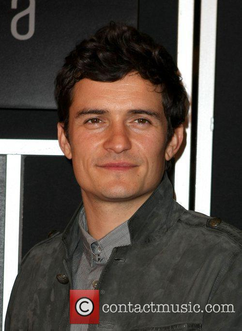 Orlando Bloom Grand opening of Vdara hotel and...
