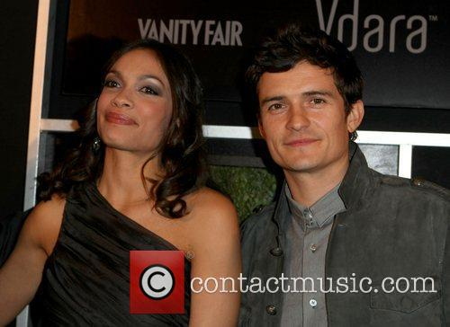 Rosario Dawson and Orlando Bloom 11