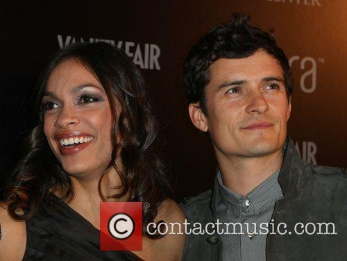 Rosario Dawson and Orlando Bloom 1