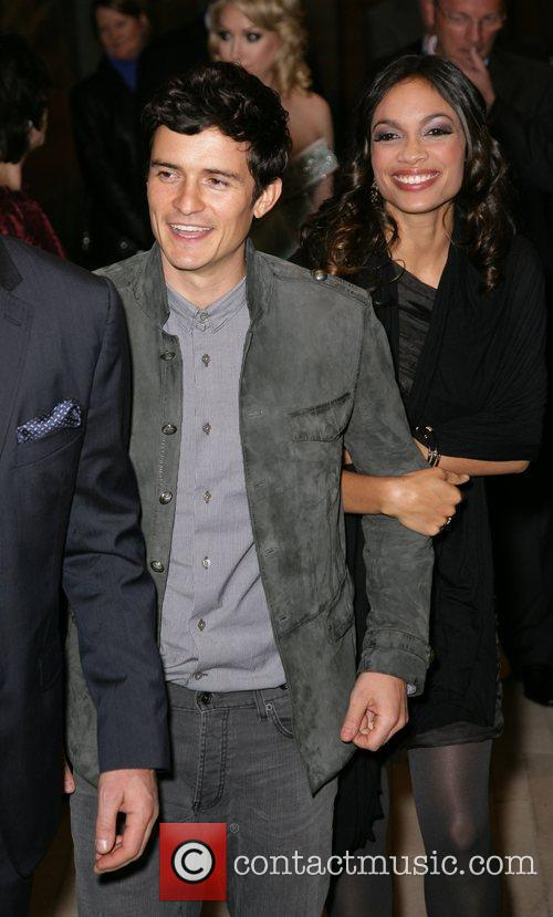 Rosario Dawson and Orlando Bloom 4