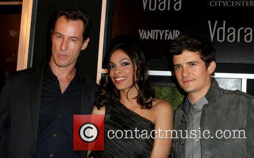 Sebastian Copeland and Rosario Dawson 1