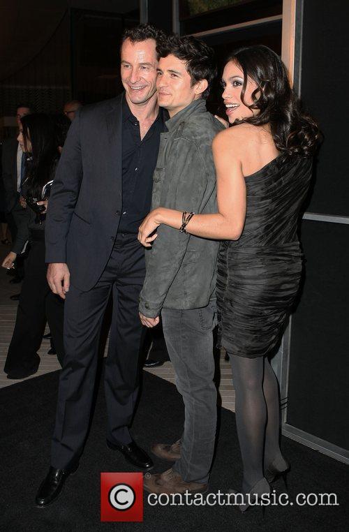 Sebastian Copeland and Rosario Dawson 3