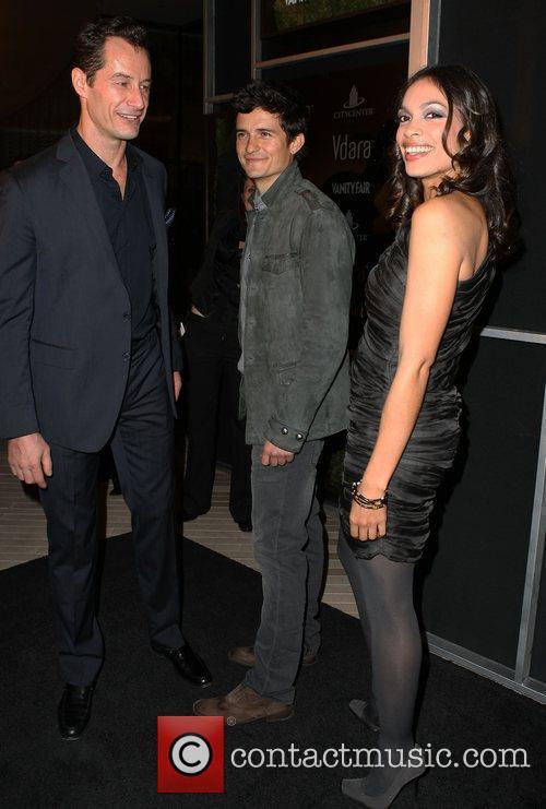 Sebastian Copeland and Rosario Dawson 2