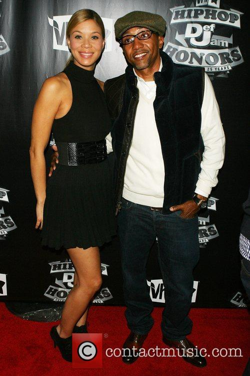 Kevin Lies and wife VH1 presents 2009 Hip...