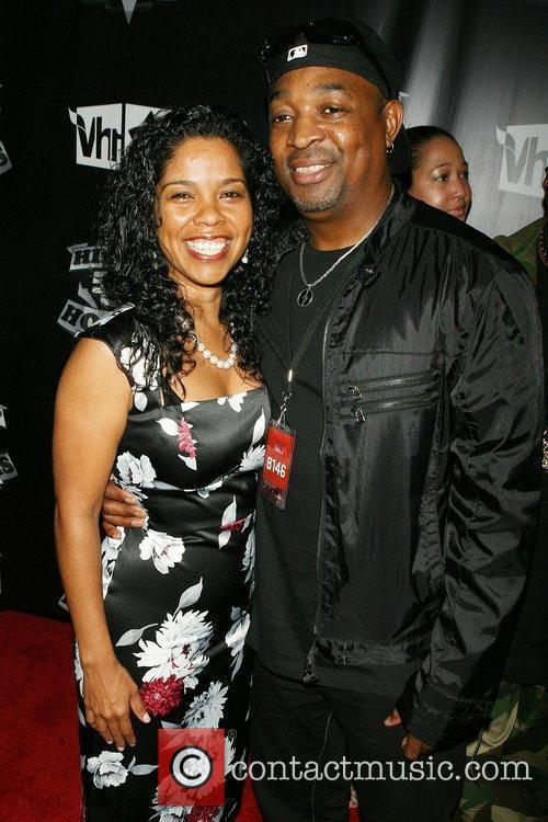 Chuck D and wife VH1 presents 2009 Hip...