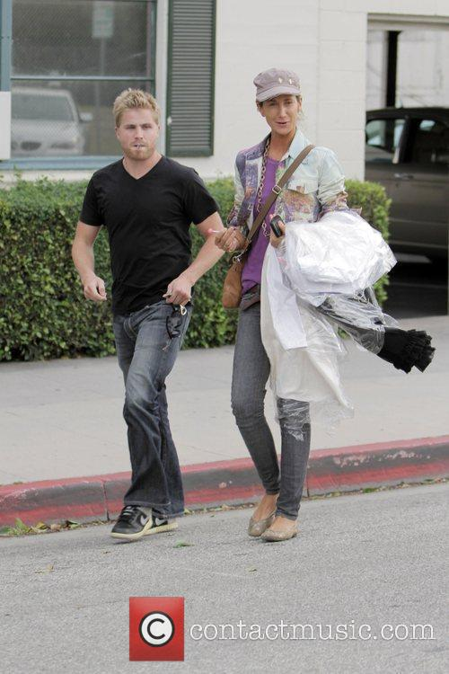 Lady Victoria Hervey  seen out walking in...