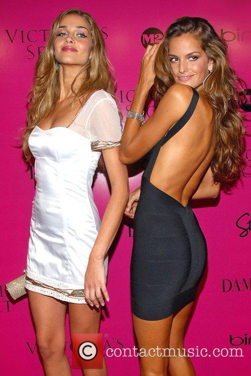 Ana Beatriz Barros and model Victoria's Secret Fashion...