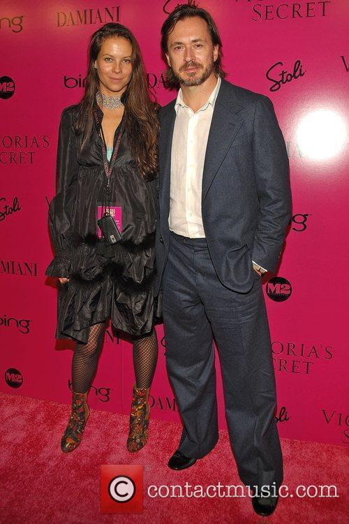 Guests Victoria's Secret Fashion Show after party at...