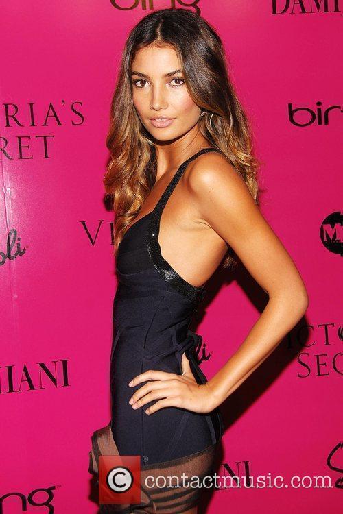 LiLy Adrich Victoria's Secret Fashion Show after party...