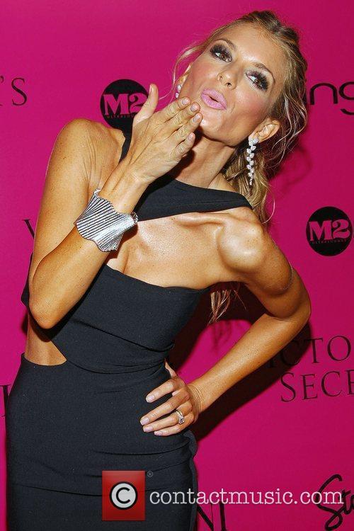 Marisa Miller Victoria's Secret Fashion Show after party...