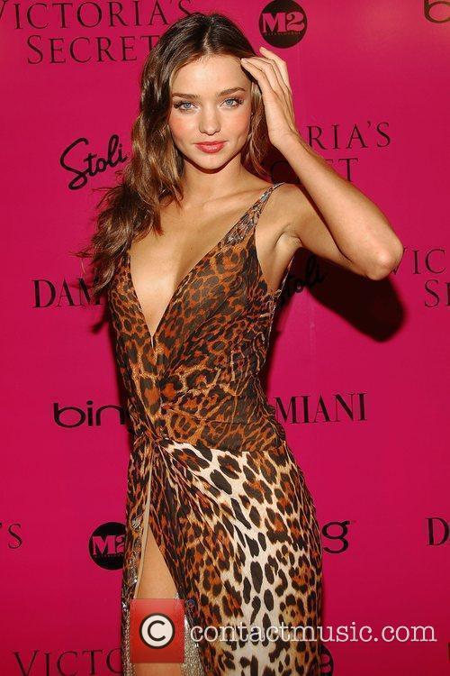 Miranda Kerr Victoria's Secret Fashion Show after party...