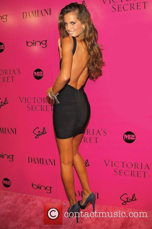 Model Victoria's Secret Fashion Show after party at...