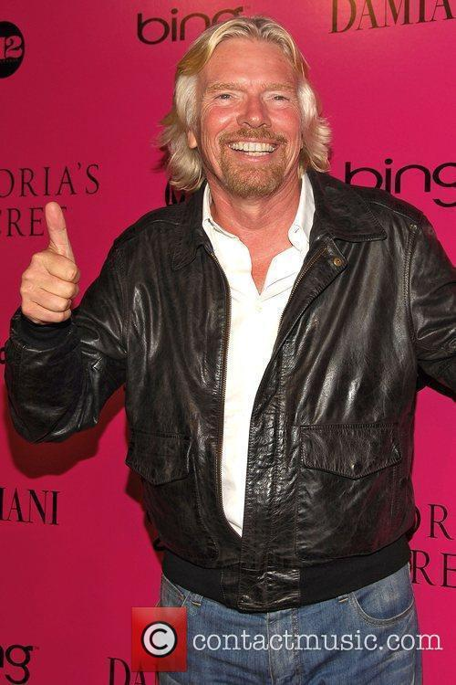 Sir Richard Branson Victoria's Secret Fashion Show after...