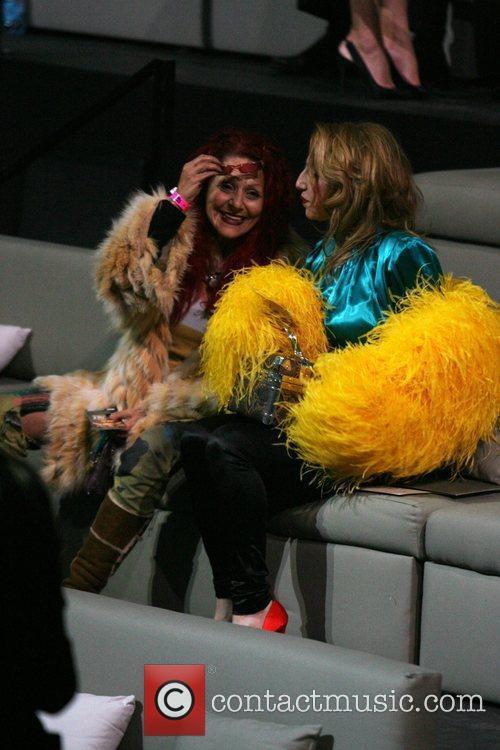 Patricia Field and Guest Victoria's Secret Fashion Show...