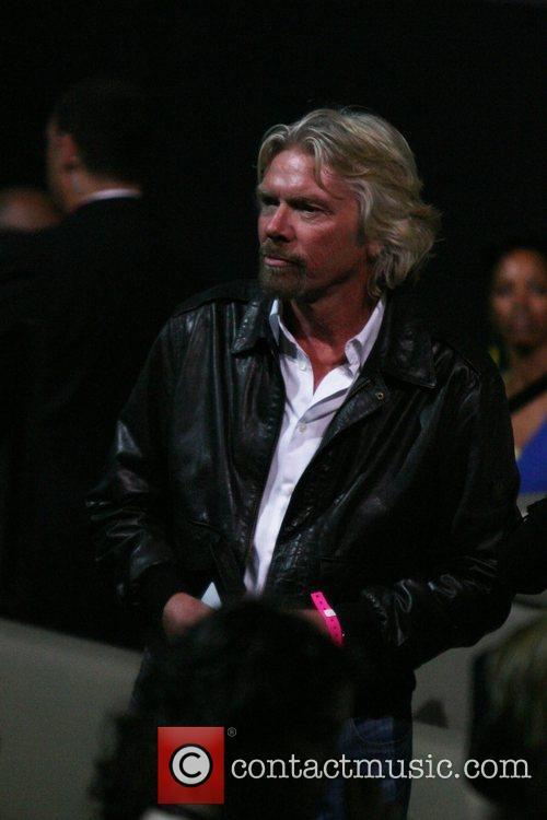 Richard Branson Victoria's Secret Fashion Show at The...